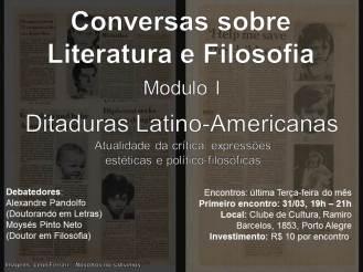 Conversas sobre Literatura e Filosofia
